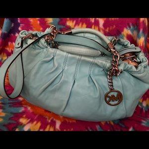 Michael Kors satchel (Aqua)